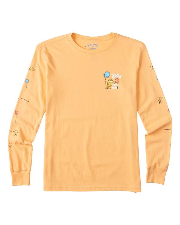 0 Lorax - Camiseta de manga larga para Chicos Naranja T2LS01BIS0 Billabong