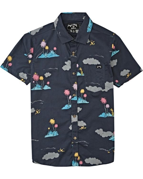 0 Lorax Island - T-Shirt mit kurzen Ärmeln für Jungen Grau T2SH01BIS0 Billabong