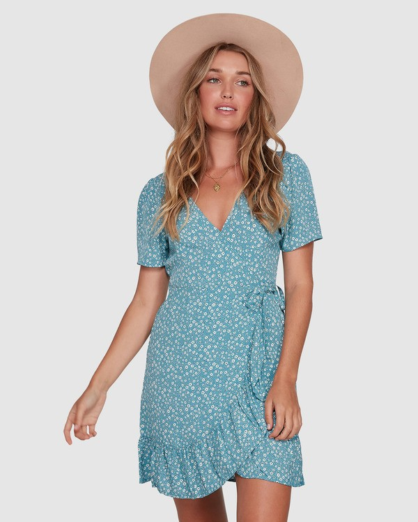 0 Bluesday - Wrap Dress for Women  T3DR50BIMU Billabong