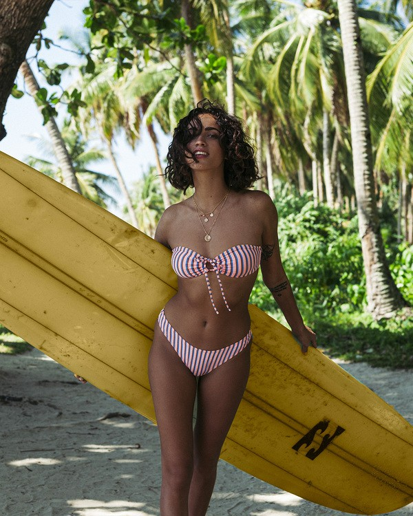 0 Hey Now - Top de bikini de banda para Mujer Multicolor T3ST07BIS0 Billabong