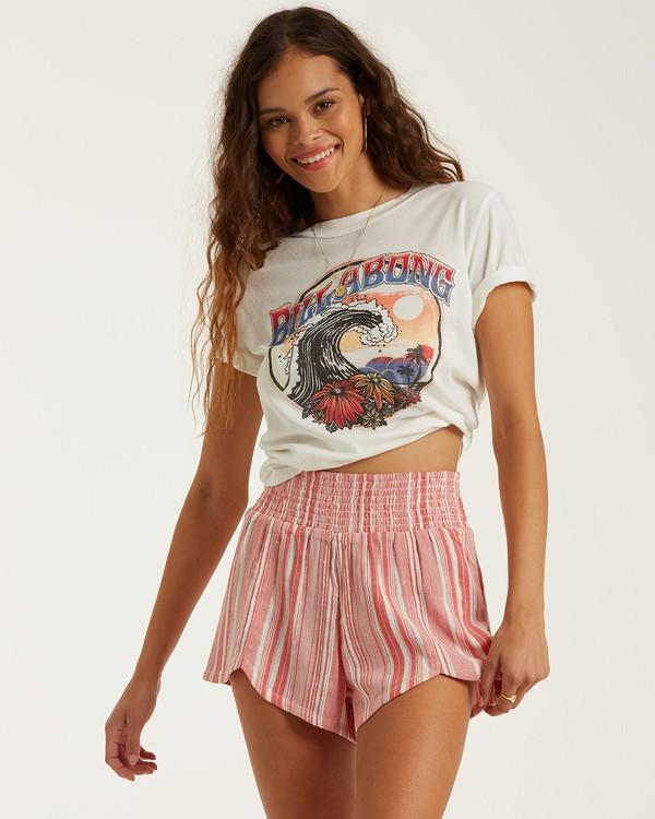 0 Cool Down - Shorts für Frauen Rot T3WK07BIS0 Billabong
