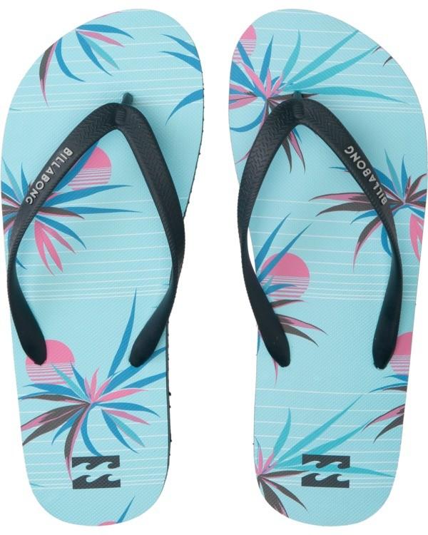 0 Tides - Zehensteg-Sandalen für Männer Blau T5FF02BIS0 Billabong