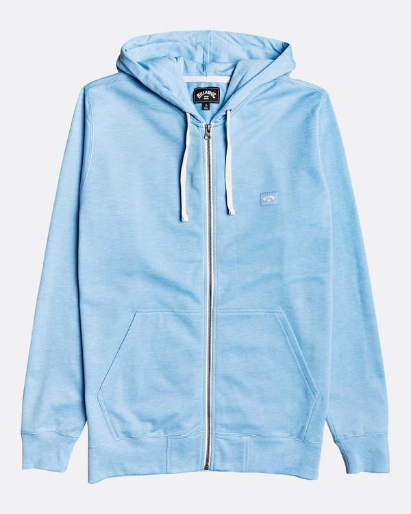 0 All Day Zip - Sudadera con capucha para Hombre Azul U1FL21BIF0 Billabong