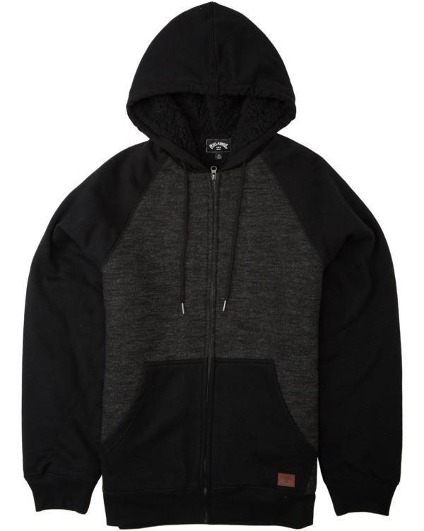 0 Balance Sherpa - Sudadera con capucha para Hombre Negro U1FL26BIF0 Billabong