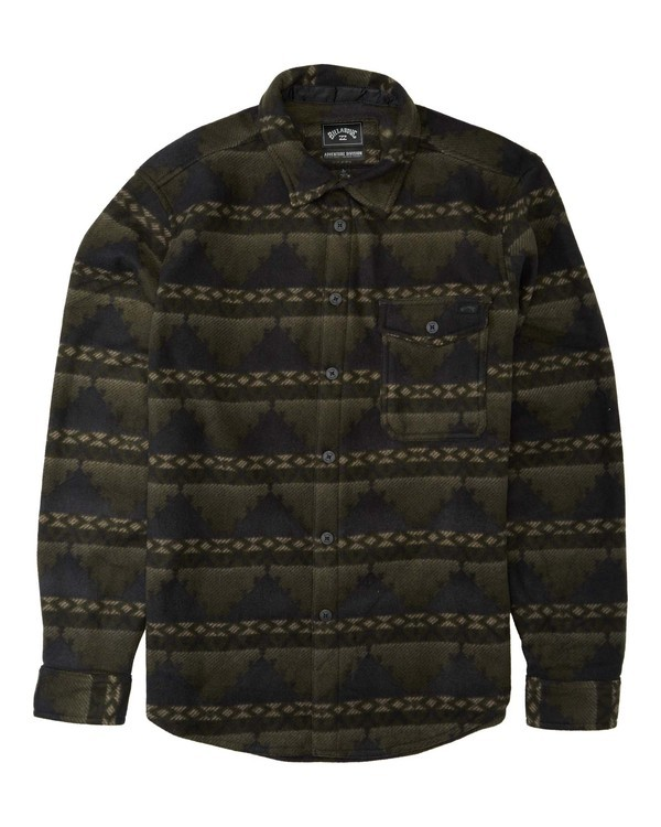 0 Adventure Division Collection Furnace Flannel - Fleece für Männer Gemustert U1FL31BIF0 Billabong