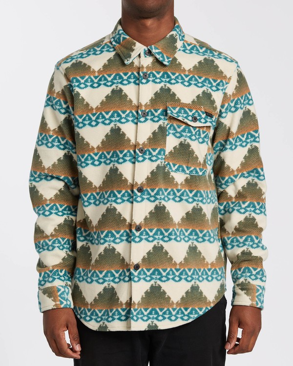 0 Adventure Division Collection Furnace Flannel - Polar para Hombre Beige U1FL31BIF0 Billabong