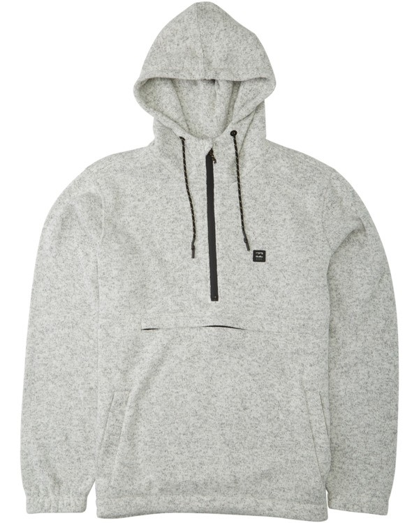 0 Adventure Division Collection Boundary - Sudadera con capucha para Hombre Gris U1FL34BIF0 Billabong
