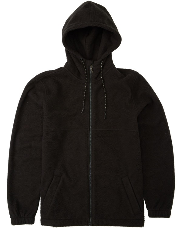 0 Adventure Division Collection Boundary Zip Sherpa - Polaire zippée pour Homme Noir U1FL37BIF0 Billabong
