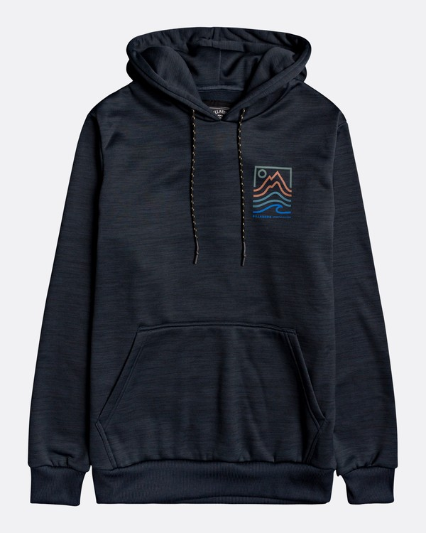 0 Adventure Division Collection Peak - Sudadera con capucha para Hombre Negro U1HO08BIF0 Billabong