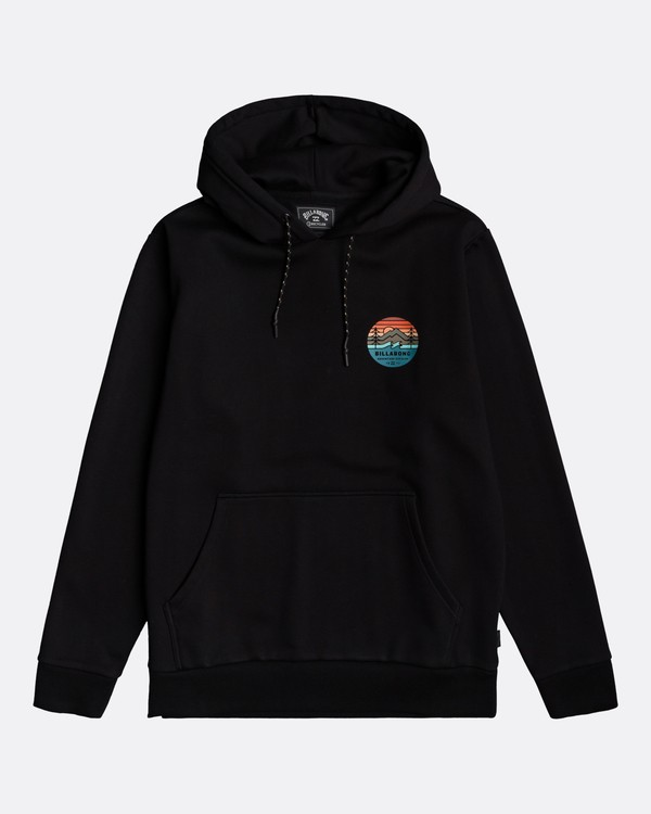0 Adventure Division Collection Twin Pines - Sudadera con capucha para Hombre Negro U1HO09BIF0 Billabong