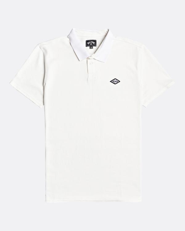 0 Skooled Polo Pique - Camiseta para Hombre Blanco U1JE09BIF0 Billabong