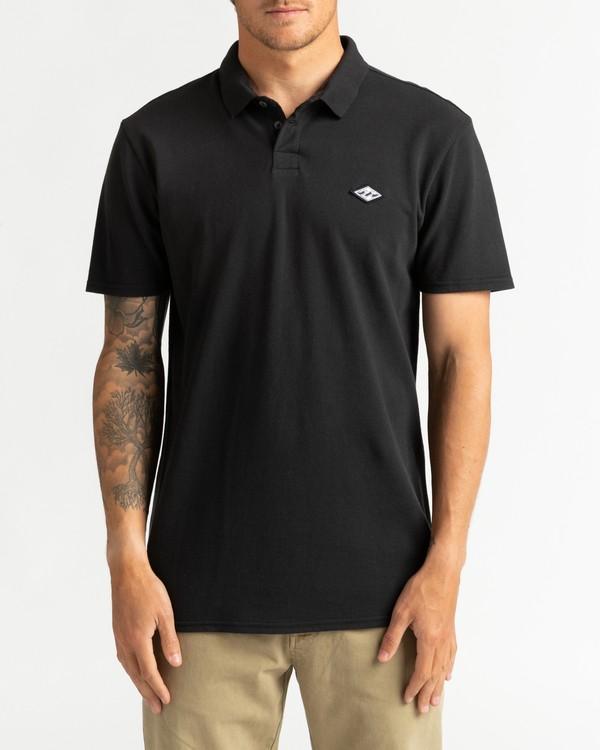 0 Skooled Polo Pique - T-Shirt for Men Black U1JE09BIF0 Billabong