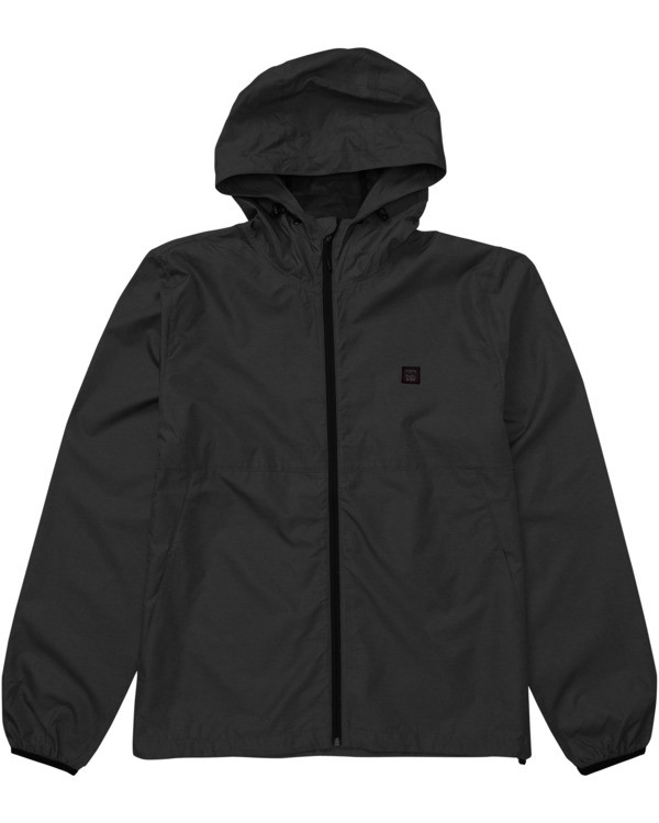 0 Adventure Division Collection Transport Windbreaker - Windbreaker Jacket for Men Black U1JK37BIF0 Billabong