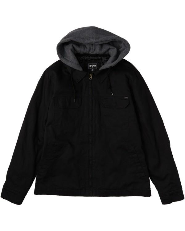 0 Barlow Twill - Twill Jacket for Men Black U1JK50BIF0 Billabong
