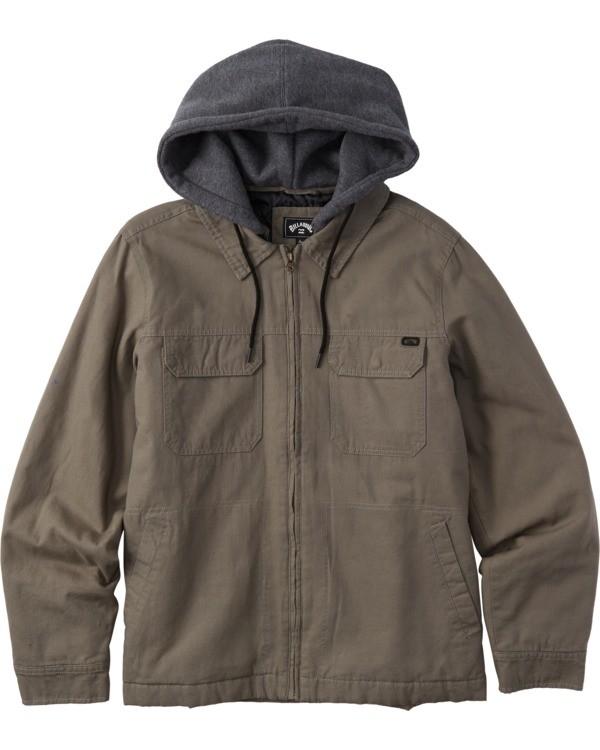 0 Barlow Twill - Twill-Jacke für Männer  U1JK50BIF0 Billabong
