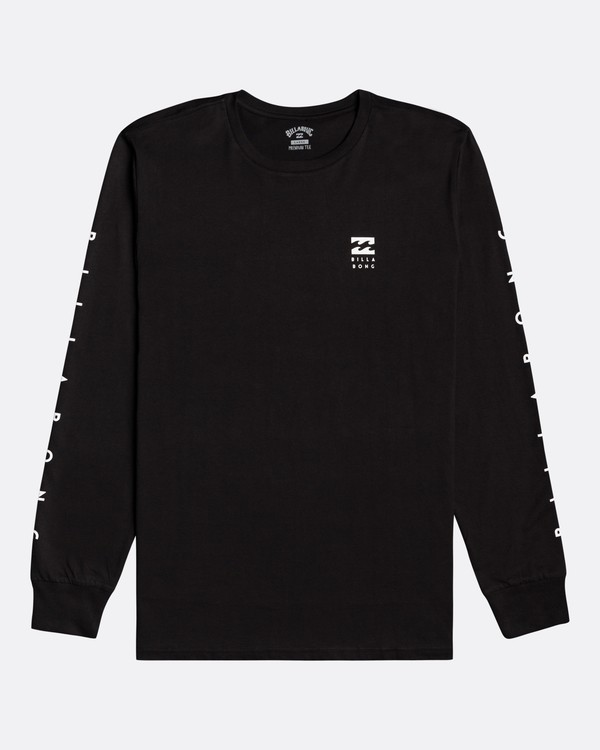 0 Unity - Camiseta de manga larga para Hombre Negro U1LS15BIF0 Billabong