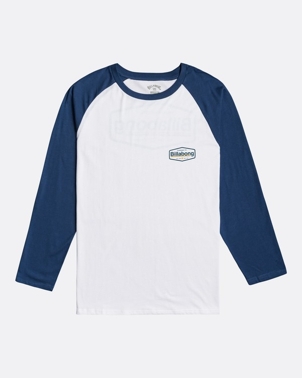 0 Montana - Long Sleeve T-Shirt for Men Blue U1LS18BIF0 Billabong
