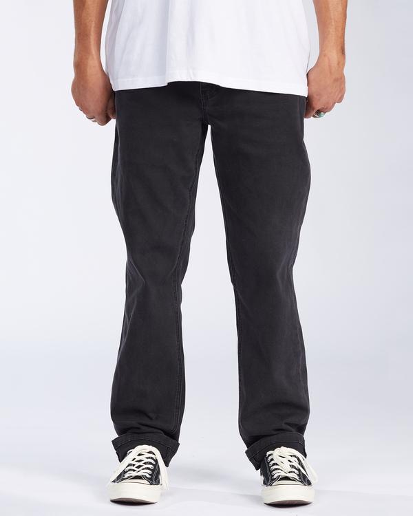 0 73 Jean - Vaqueros de corte ajustado para Hombre Negro U1PN01BIF0 Billabong