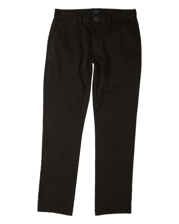0 73 - Pantalón chino para Hombre Negro U1PT10BIF0 Billabong