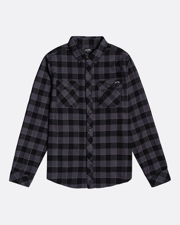 0 All Day Flannel - Camisa de manga larga para Hombre Negro U1SH10BIF0 Billabong