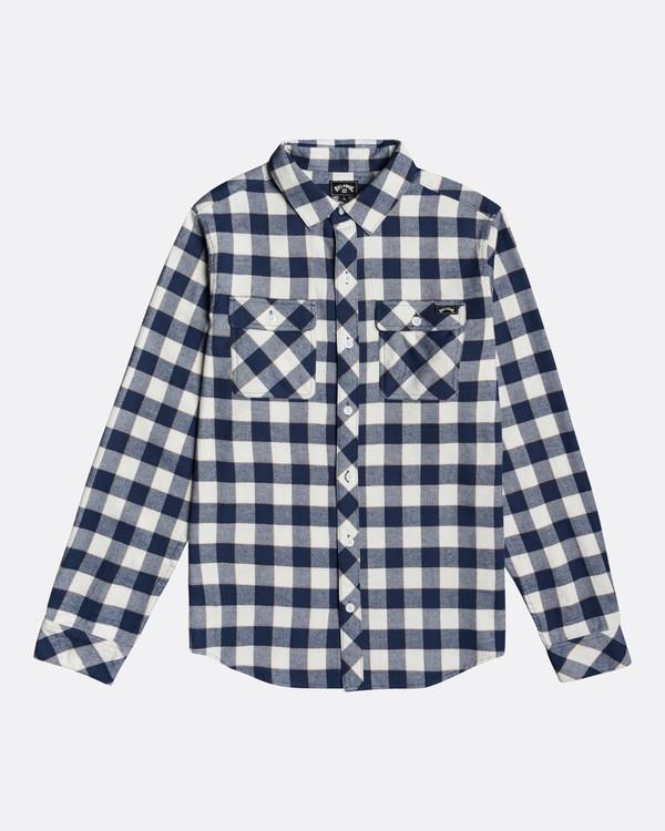 0 All Day Flannel - Langärmliges Hemd für Männer Mehrfarbig U1SH10BIF0 Billabong