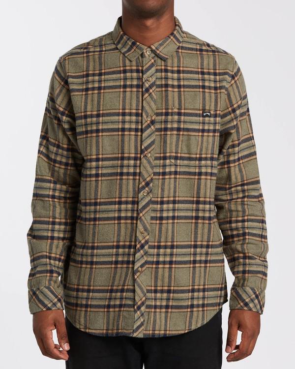 0 Coastline - Camisa de manga larga para Hombre  U1SH12BIF0 Billabong