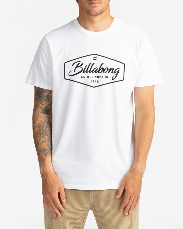 0 Trademark - T-Shirt for Men White U1SS53BIF0 Billabong