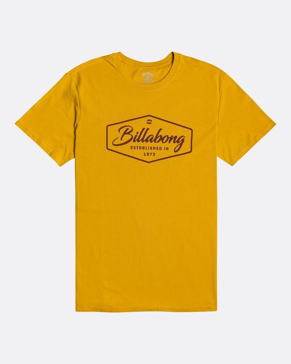 0 Trademark - Camiseta para Hombre Amarillo U1SS54BIF0 Billabong