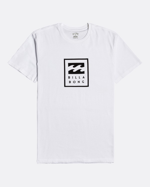 0 Unity Stacked - T-Shirt for Men White U1SS55BIF0 Billabong