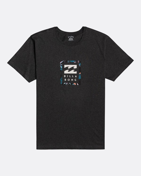 0 Unity Stacked - Camiseta para Hombre Negro U1SS56BIF0 Billabong
