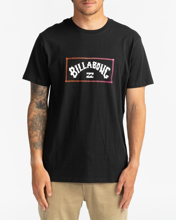 0 Arch - T-Shirt for Men Black U1SS57BIF0 Billabong