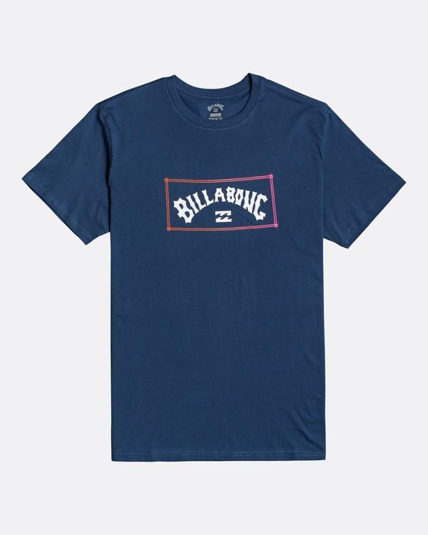 0 Arch - T-Shirt für Männer Blau U1SS58BIF0 Billabong