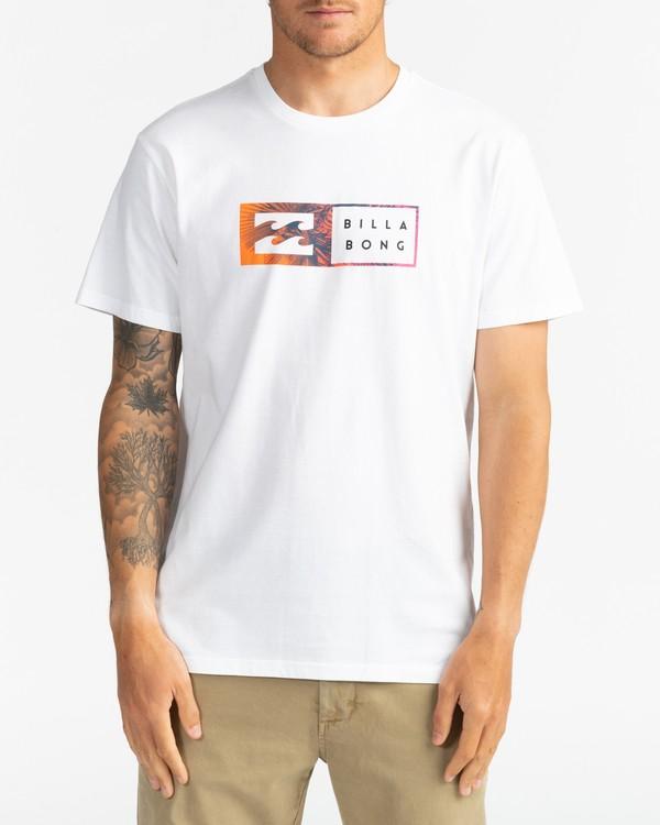 0 Inversed - T-Shirt for Men White U1SS61BIF0 Billabong