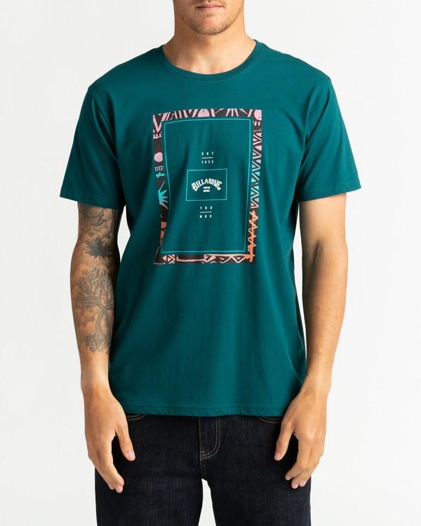 0 Tucked - Maglietta da Uomo Green U1SS64BIF0 Billabong