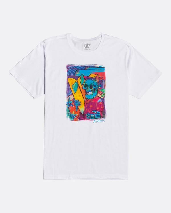 0 Cubes - Camiseta para Hombre Blanco U1SS72BIF0 Billabong
