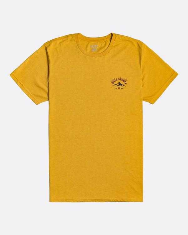 0 Arch Peak - Camiseta para Hombre Amarillo U1SS74BIF0 Billabong