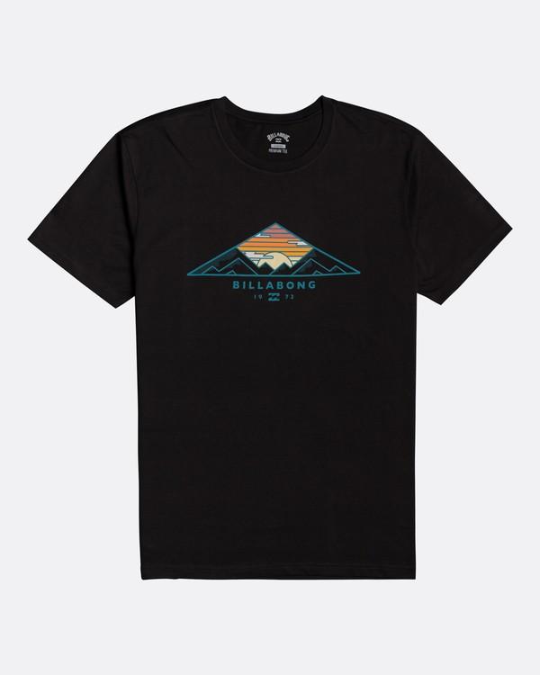 0 Mt Cayley - Camiseta para Hombre Negro U1SS75BIF0 Billabong