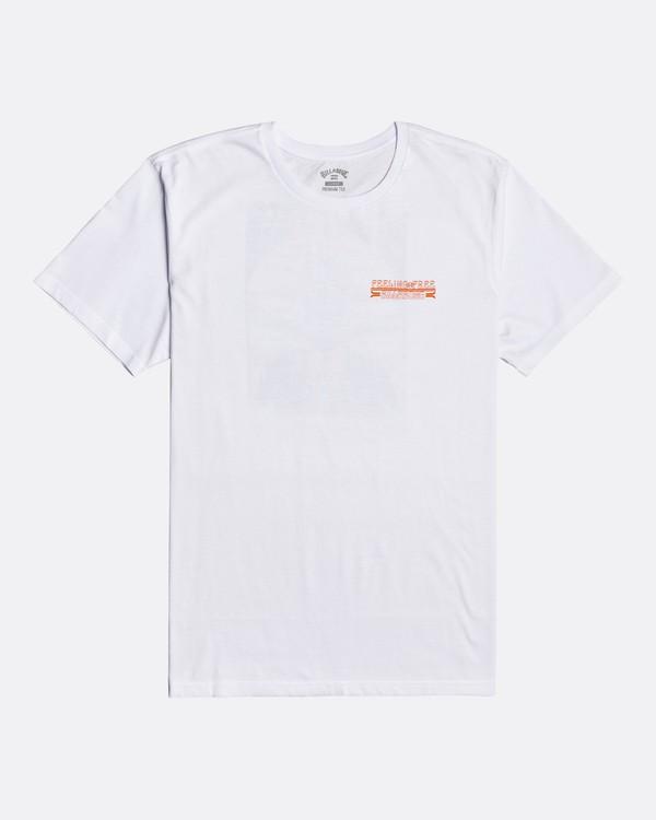 0 Blow Skull - Camiseta para Hombre Blanco U1SS83BIF0 Billabong