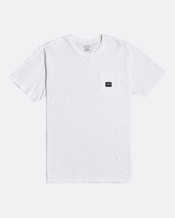 0 Stacked - T-Shirt for Men White U1SS98BIF0 Billabong
