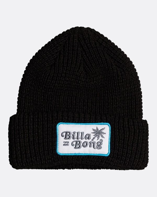0 Walled - Gorro para Chicos Negro U2BN08BIF0 Billabong