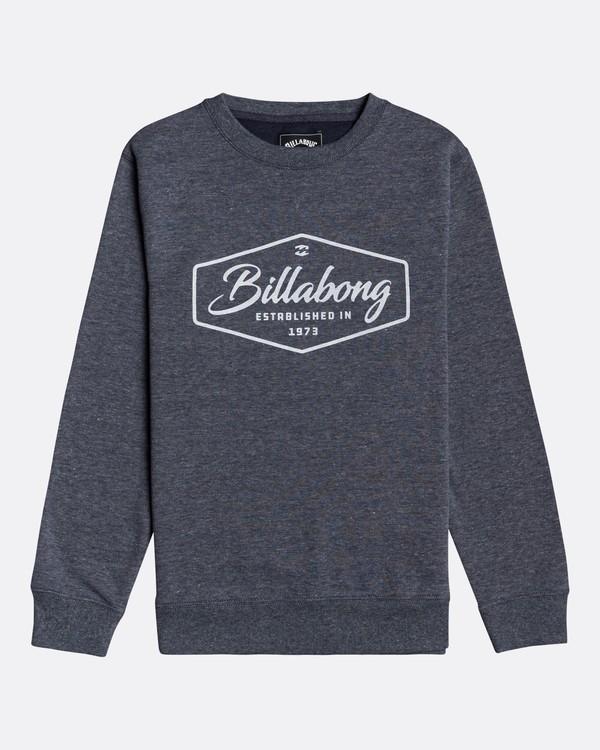 0 Trademark - Sweatshirt for Boys Blue U2CR01BIF0 Billabong