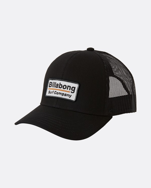 0 Walled - Gorra Trucker para Chicos Negro U2CT02BIF0 Billabong