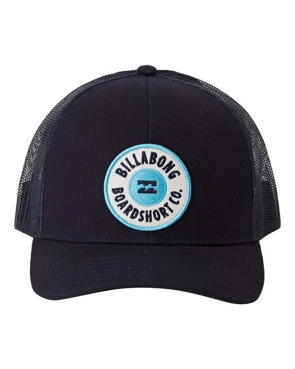 0 Walled - Trucker Cap for Boys Blue U2CT02BIF0 Billabong