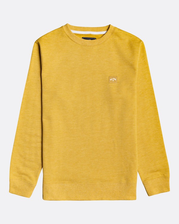 0 All Day - Sweatshirt for Boys Yellow U2FL02BIF0 Billabong