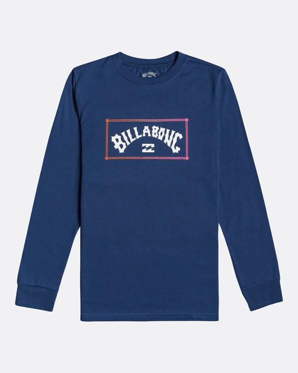 0 Arch - Long Sleeve T-Shirt for Boys Blue U2LS02BIF0 Billabong