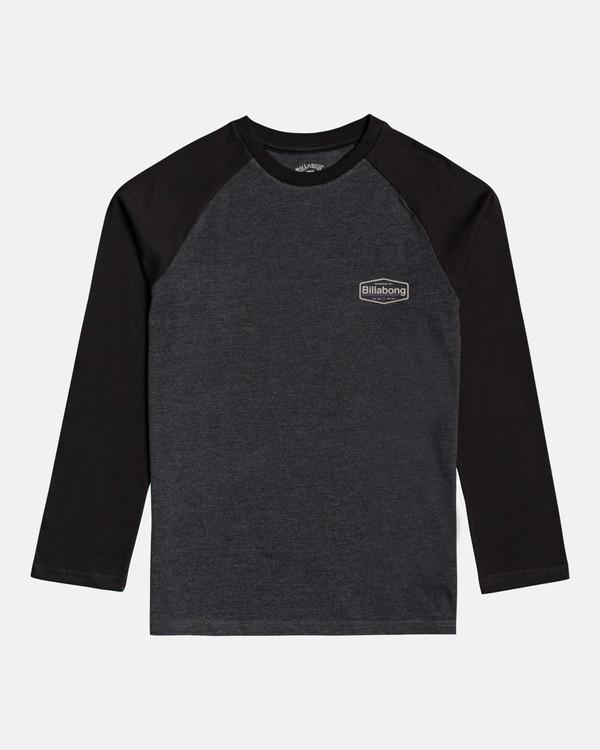 0 Montana - Camiseta de manga larga para Chicos Negro U2LS03BIF0 Billabong