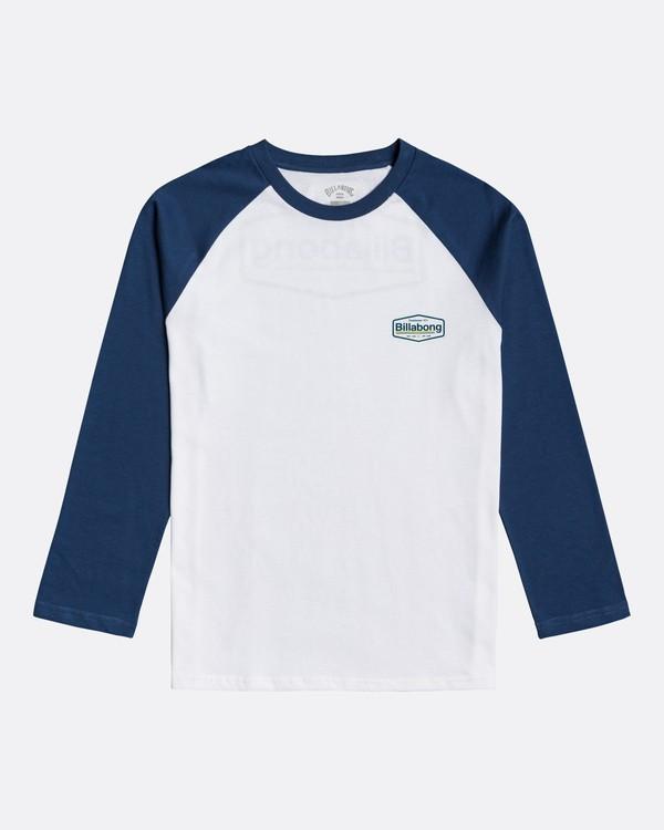 0 Montana - Camiseta de manga larga para Chicos Azul U2LS03BIF0 Billabong