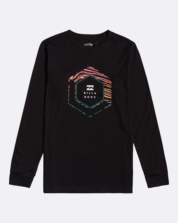 0 Access - Camiseta de manga larga para Chicos Negro U2LS05BIF0 Billabong