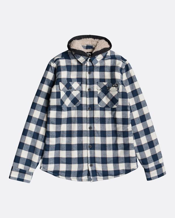 0 All Day Sherpa Boys Flannel - Overshirt for Boys Multicolor U2SH05BIF0 Billabong