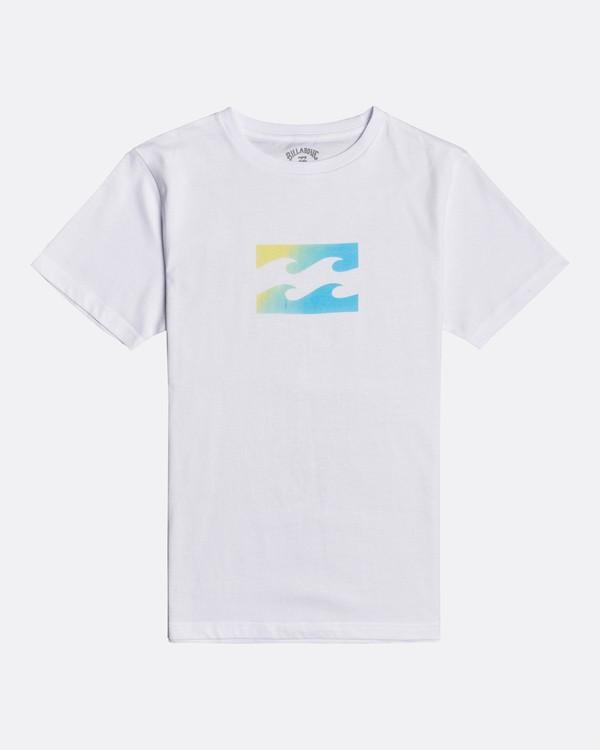 0 Team Wave - Camiseta para Chicos Blanco U2SS01BIF0 Billabong
